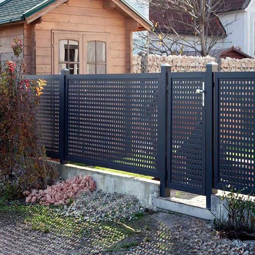 Square Perforated Mesh