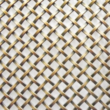 Flat Filament Crimped Wire Mesh